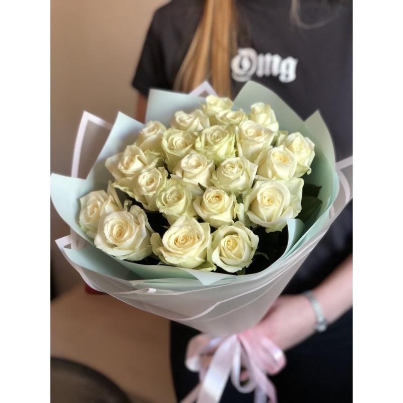 """Букет из 21 розы """"Рандеву"""""""