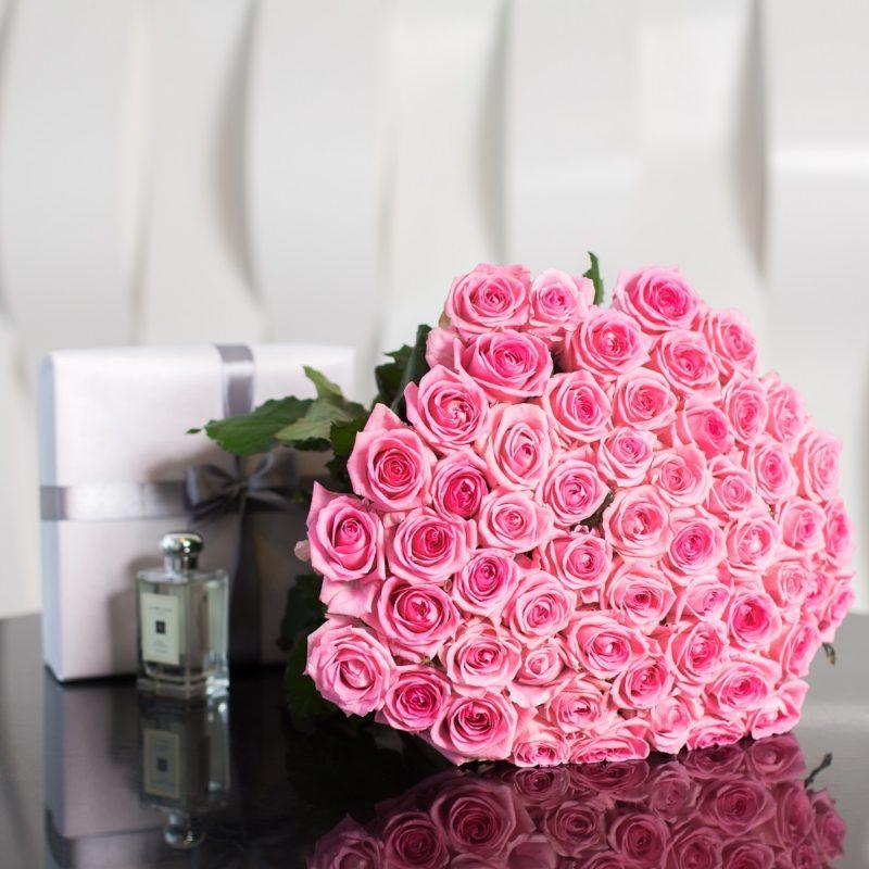 Букет из 51 розы Ревивал