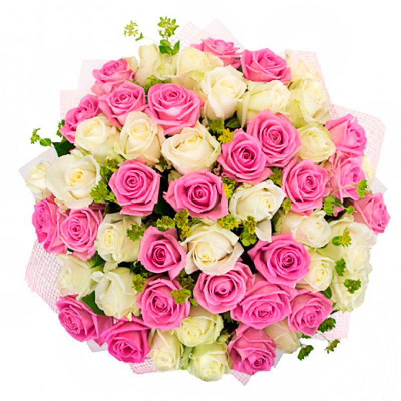 Букет «Мои симпатии» (51 роза)