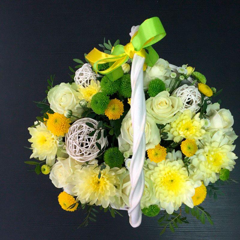 """Корзинка с цветами """"Весна"""""""